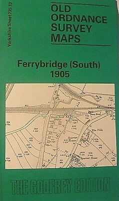 Old Ordnance Survey Map Ferrybridge South Yorkshire 1905 Sheet 235.13 New  Map