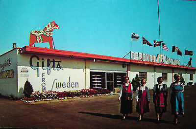 Cloquet MN Berquist Imports Gifts from Sweden PC 1950s