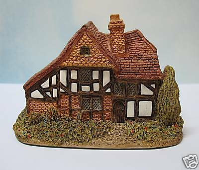 Lilliput Lane Oak Lodge~ W/ Booklet And Deed