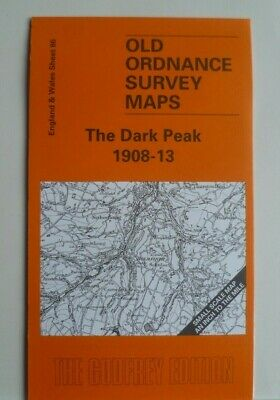 Old Ordnance Survey Maps Mossley Penistone Glossop Holmfirth  Honley 1908 new