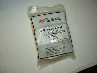 Ingersoll-Rand 49763-6 Pulley Set Replacement Parts Nib