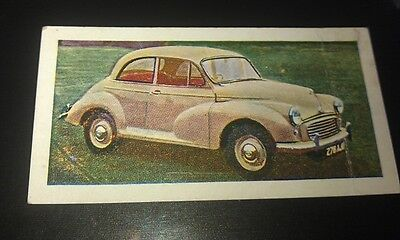 1959 MORRIS MINOR   Orig Trade Card UK