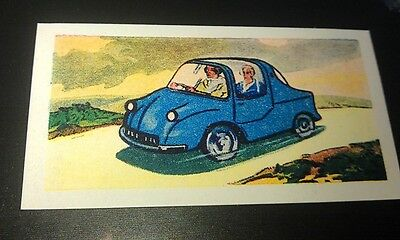 1960 PHOENIX  Micro Car  Orig Trade Card UK