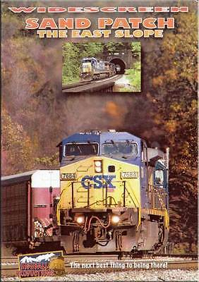 Sand Patch - The East Slope DVD NEW Highball CSX Allegheny Mountains Cooks Mills