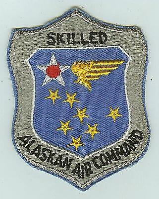 Skilled Alaskan Air Command patch USAF United States US Air Force