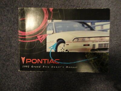 Pontiac Grand Am 1997 97 Owners Manual Set Case Book OEM Free Shipping