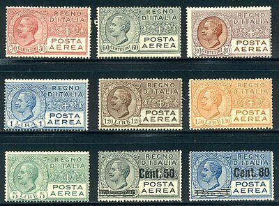 ITALY #C3-11 Mint - 1926-28 Airmails