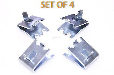 4 x TRUE BEVERAGE AIR SHELF SUPPORT CLIPS SHELVING
