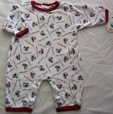 Colorado Avalanche Baby Infant Romper Creeper One Piece Coverall 24M NWT