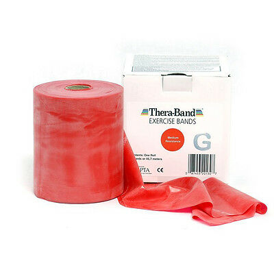 THERA-BAND ® 1,5 m rot Gymnastikband Original Theraband von der Rolle