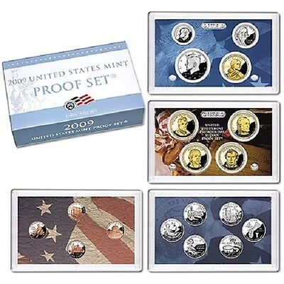 2009-S~Us Mint 18 Coin  Proof Set~ W/Territories & Presidents~~Ogp