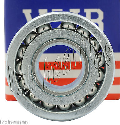 "Unground Full Complement Ball Bearing 1/2""x1 1/4""x 3/8"" inch Heavy Duty Wheel"