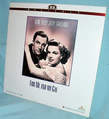 LD laserdisc FOR ME AND MY GAL musical GENE KELLY & JUDY GARLAND