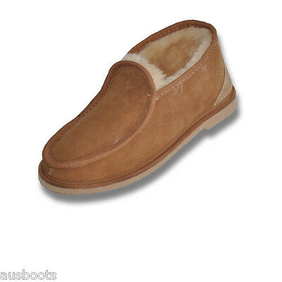 Mens Australian Made 100% Sheepskin Ugg Slippers - Boots