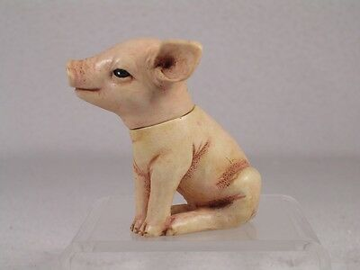 Harmony Kingdom Ball Pot Bellys / Belly 'Pudge' a Pig Piglet  #PBZPI  New In Box