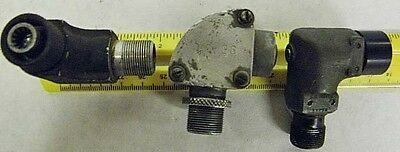 MC-136 FLEX CABLE RIGHT ANGLE ADAPTER FOR VARIOUS WW-2 MILITARY RADIO