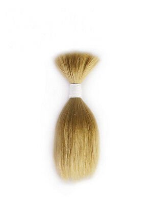 Blond Mohair for Reborns! One Straight 1/4 ounce package!