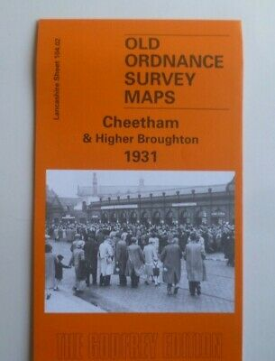 Old Ordnance Survey Maps Cheetham & Higher Broughton Lancs 1931 S104.02  New Map