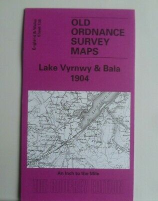 Old Ordnance Survey Map Lake Vyrnwy & Bala & Plan of Llangynog 1904 Sheet 136
