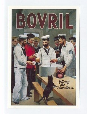 ad51 - Bovril - advert - art postcard