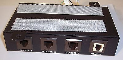 Lot of 5 Planet Equipment 830808-00601  M1 Dual JBOX Splitters