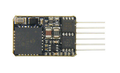 Bachmann 36-568 6 Pin Loco Decoder DCC Chip with Back EMF & Railcom (Suits N)