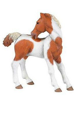 Papo Pinto Foal horse barn farm animal toy figure pretend play 51096 NEW