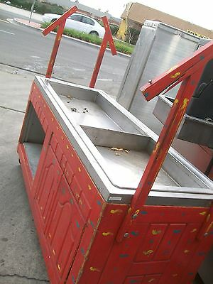 SALAD/ ICE BIN, NONE REF., ON CASTERS, WITH GLASS FRONT, ,900 items on e bay