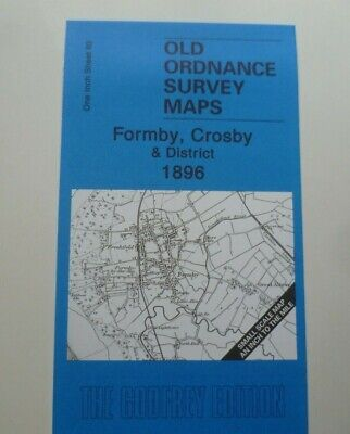 Old Ordnance Survey Maps Formby  Crosby & District & Map Little Crosby 1896 S83