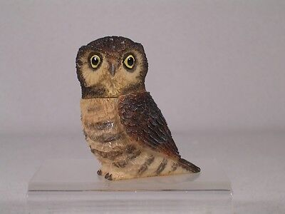 Harmony Kingdom Ball Pot Bellys / Belly 'Hawk' Owl #PBZOW11 New In Box