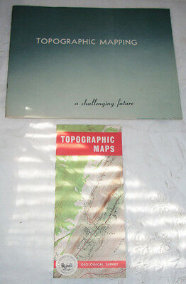Lot of Two 1960s USGS Topographic Mapping Publications