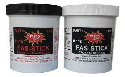Fasco Epoxies 110 Epoxy Glue Quart Kit (wood, aluminum, fiberglass)