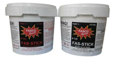 Fasco Epoxies 110 Epoxy Glue Gallon Kit (wood, aluminum, fiberglass)