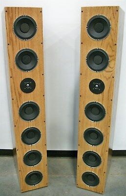6 Woofer 2 way Tower Design Remarkable Bass & Performance - Components & Plans