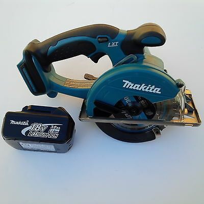New Makita LXT 18V XSC01 Cordless Metal Saw,BL1830 Battery 3.0 AH Li-on 18 Vvol