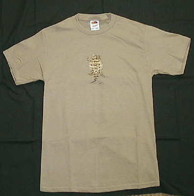 Horned Toad Lizard T-Shirt NEW Adult Small