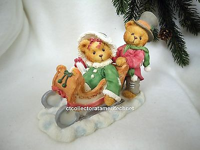 Cherished Teddies Lindsey and Lyndon 1996 Special Preview Ed NIB