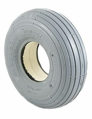 NEW PUNCTURE PROOF 260x85 SOLID MOBILITY SCOOTER TYRE Ribbed Tread
