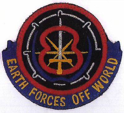 B5  Babylon 5 Earth Forces Off World Embroidered Patch