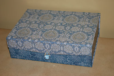 Punch Studio: Boudoir Collection: Drawer Jewelry Box with Crystal