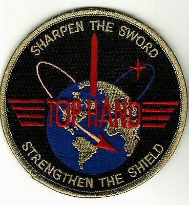 USAF PATCH - 595th SPACE GROUP & 595th TEST AND EVALUATION GROUP SUBDUED