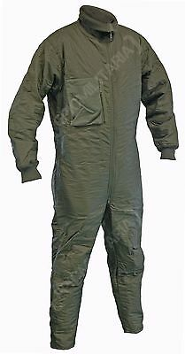 German Army Tanker Overalls - Coveralls Undersuit Winter Warm Zipper All Sizes