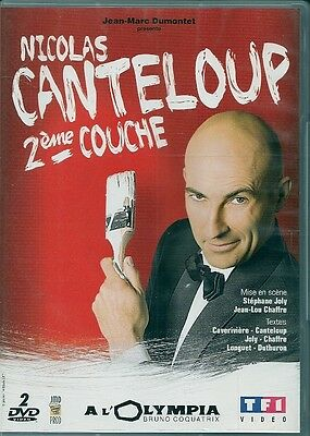 2 DVD ZONE 2 SPECTACLE--NICOLAS CANTELOUP--2eme COUCHE / A L' OLYMPIA 2008