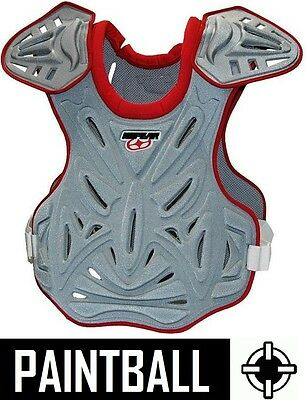 No Fear Empire Pro Paintball Soft Armour Chest Protector Adult S/m L/xl