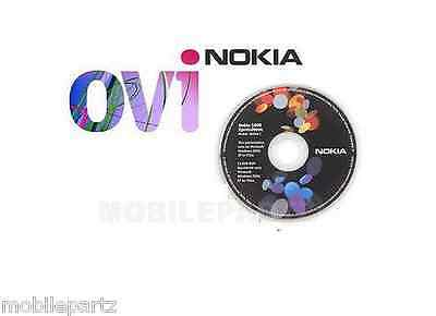 Genuine Nokia Software CD with OVI Suite Vista XP Compatible for X3 C3 C5 C6 C7