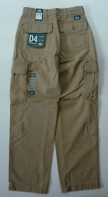 Dockers D4 Flat Front Cargo Pockets