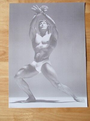 Mr Olympia Bodybuilder FRANK ZANE muscle bodybuilding artistic pose photo