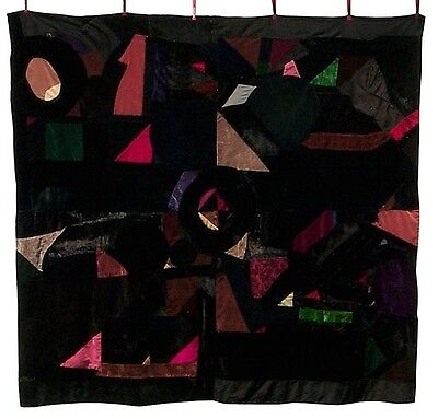 An African-American quilt with great graphics.