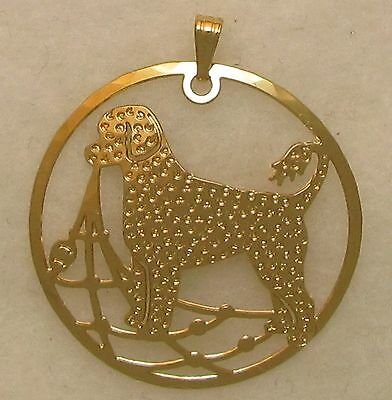 Portuguese Water Dog Jewelry Retriever Clip Pendant