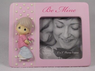 Precious Moments-'Be Mine' Photo Frame For 3x3 Picture #834002 NIB!